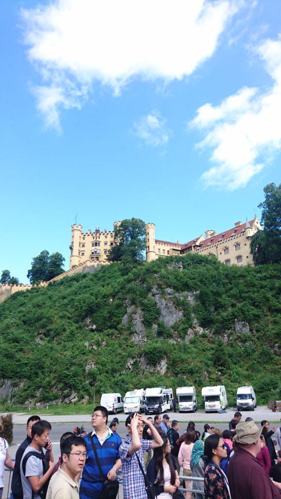 舊天鵝堡Schloss Hohenschwangau