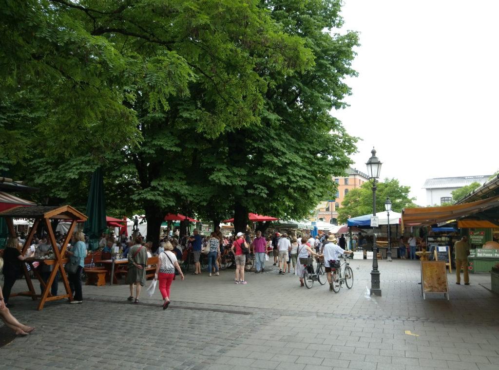 殼物市場 (Viktualienmarkt)