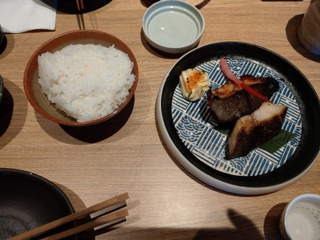 鱈魚西京燒